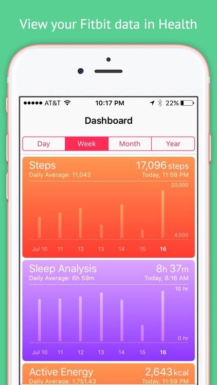 Fitbit to Apple Health Sync screenshot-4