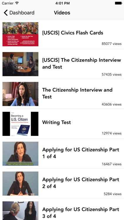 US Citizenship Test Audio 2019 screenshot-3