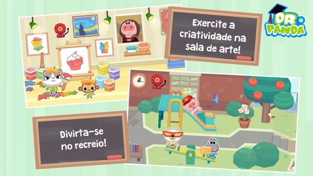 Dr. Panda Escola Screenshot