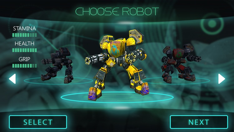 Robot War Military Mission screenshot-3