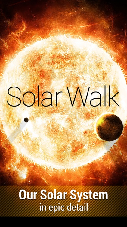 Solar Walk™ - Space, Planets System, Moons, Orbits