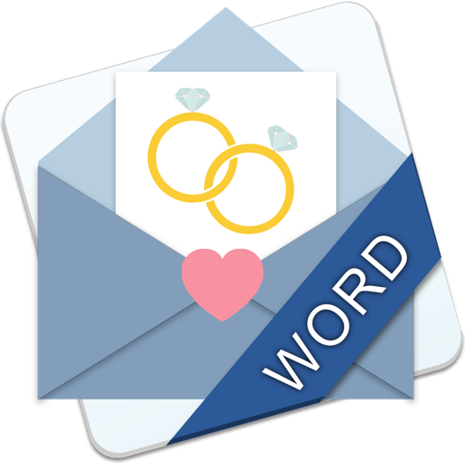 Wedding Invitations & Stationary - MS Word Edition