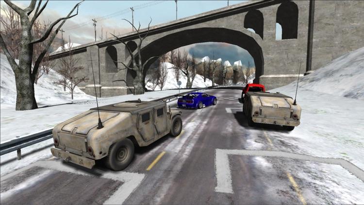 Snow Car Racing PRO screenshot-3