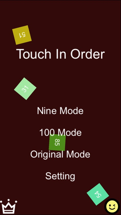 Touch In Order - Touch Numbers