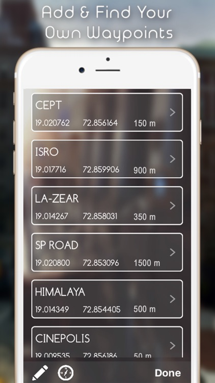GPS Navigation Heading Compass - (Map with Speedometer, Altimeter & Digital Direction Finder) screenshot-3
