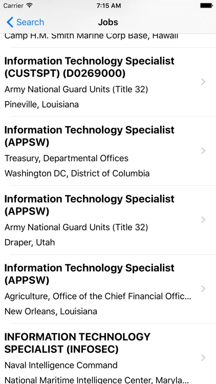 Gov Job Search - Find government jobs and employment information screenshot-3