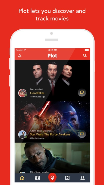 Plot — Discover and track movies