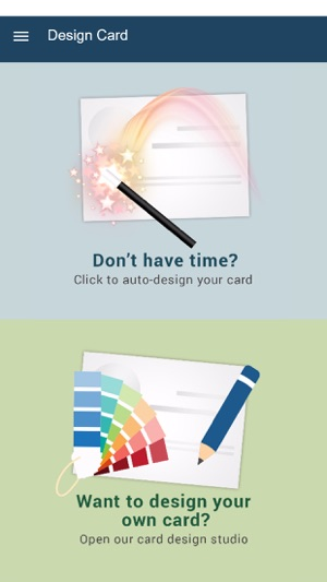 Quickbc business card maker on the app store reheart Image collections