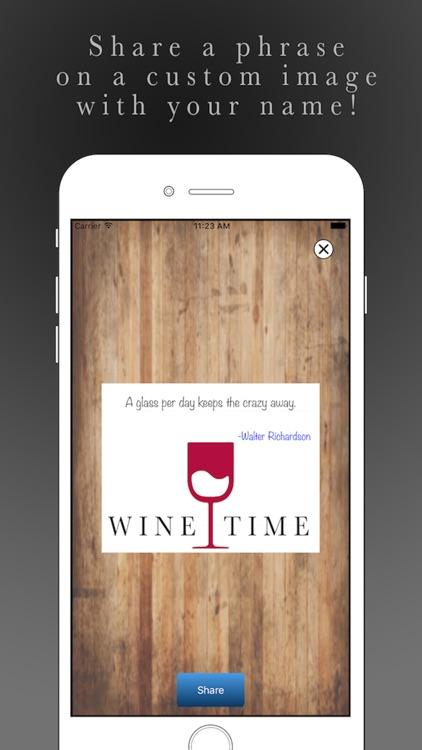Wine Time Pro screenshot-4