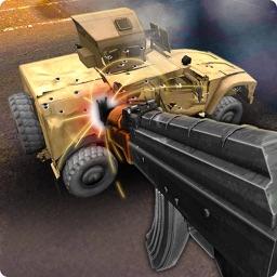 Simulator Shoot Car