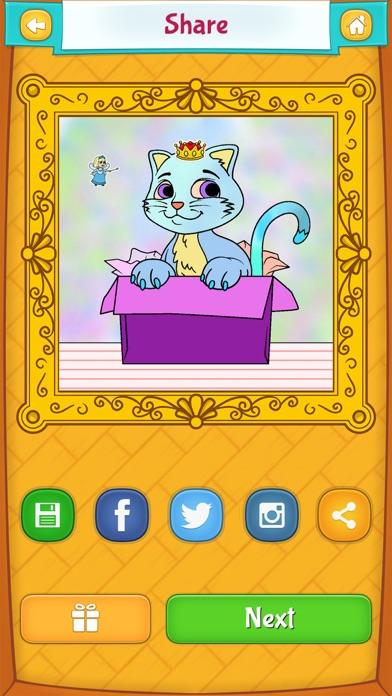 다운로드 색칠 공부 고양이 - 색칠놀이 Android 용