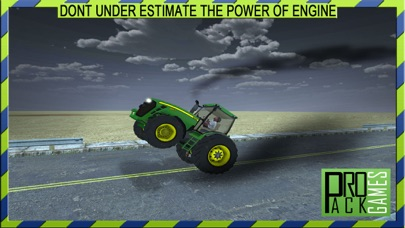 V8 reckless Tractor driving simulator – Drive your hot rod muscle machine on top speed screenshot one