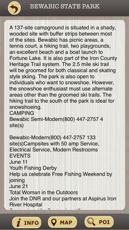 Michigan State Parks & National Parks Guide screenshot-3