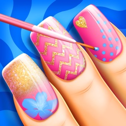 Nail Art Beauty Makeover Salon: Fashion Manicure Designs and Decoration Ideas for Girls