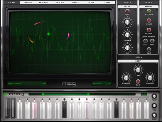 Screenshot #1 for Animoog