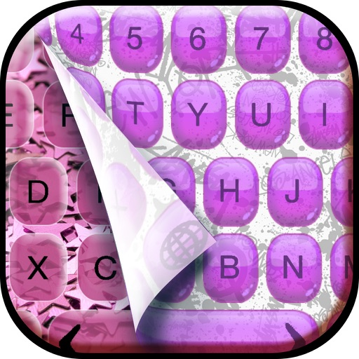Fashion Keyboard Design.er – Custom Keyboards Themes with Fancy Backgrounds, Emoji.s and Fonts