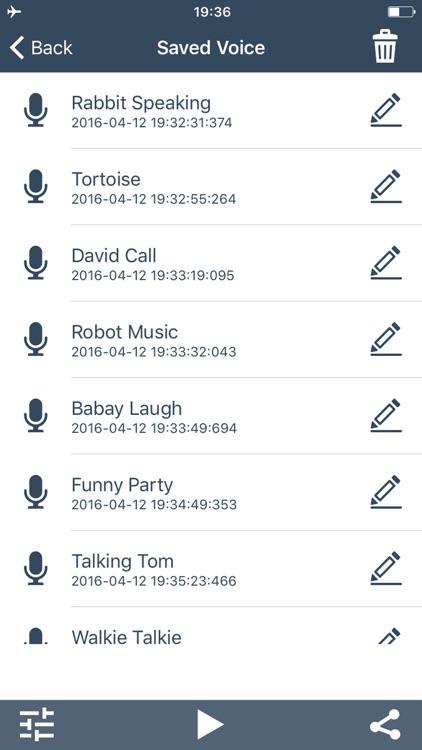Voice Change.r Prank Call - Sound Effects Recorder screenshot-3