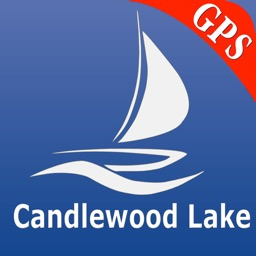 Candlewood lake GPS nautical charts