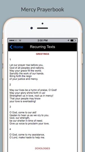 Mercy Prayerbook on the App Store