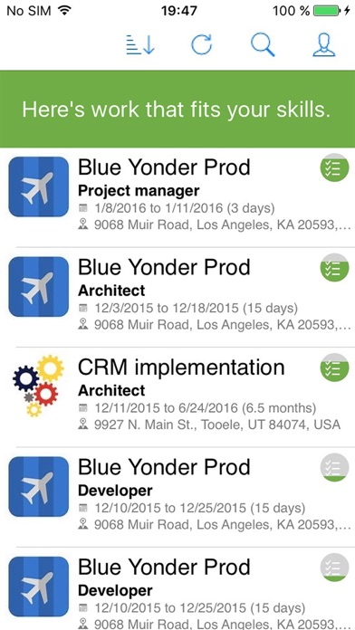 Project Finder for Dynamics 365
