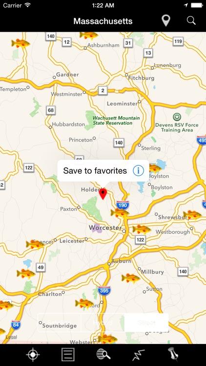 Massachusetts: Lakes and Fishes screenshot-4