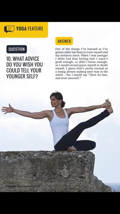 Asana International Yoga screenshot-3