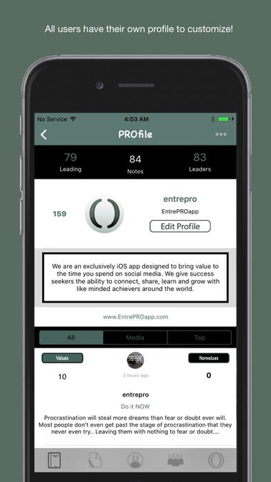 EntrePRO screenshot one