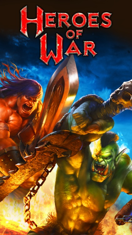 Heroes of War: Orcs vs Knights screenshot-0