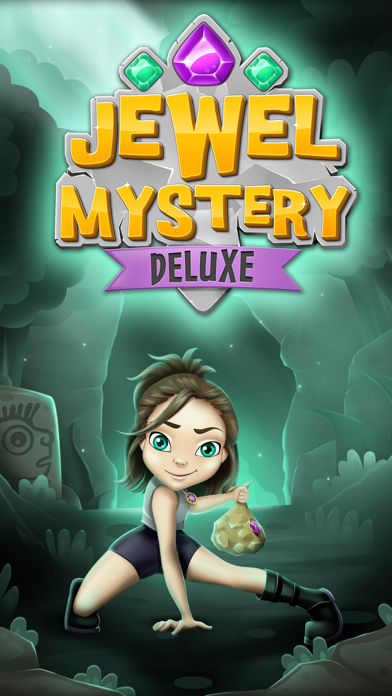 Jewel Mystery Deluxe Match 3: Find the Lost Diamond in the