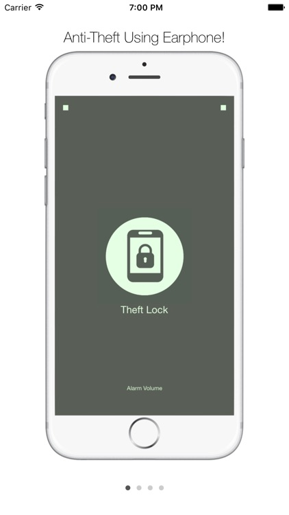 Theft Lock Lite - Using Earphone for Anti-Theft