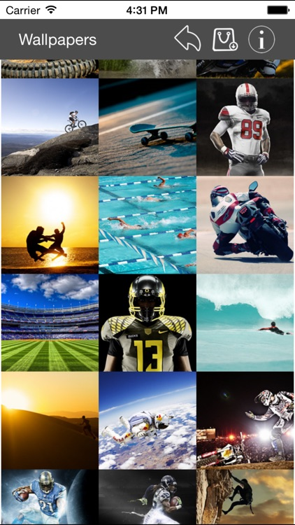 Wallpapers Collection Sport Edition