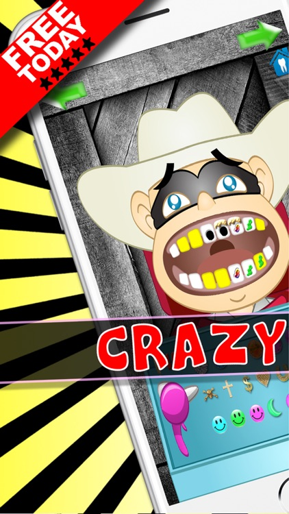 Crazy Doctor And Dentist Salon Games For Kids FREE