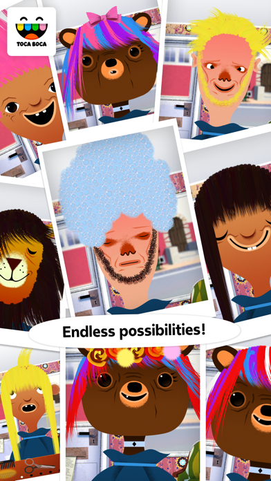 download Toca Hair Salon apps 4