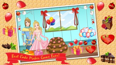 Marvelous Princess Birthday Cake Maker Cooking Game Make Your Own Cake Funny Birthday Cards Online Eattedamsfinfo
