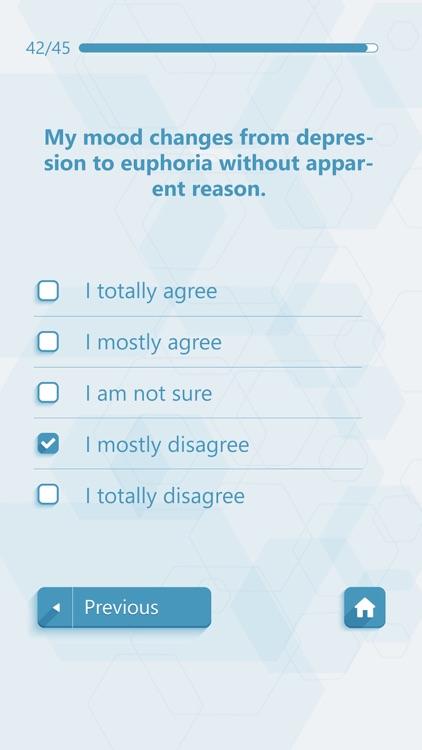 Self Assessment Psychological Tests screenshot-3
