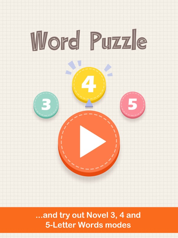 Word Puzzle: Three Four Five Letters by DADA LI (iOS, United