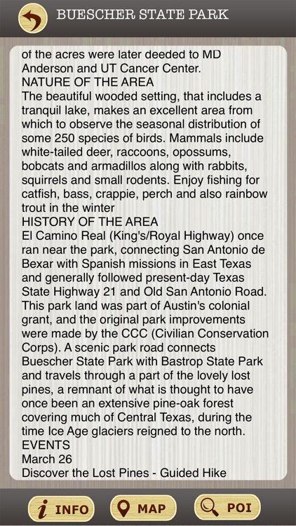 Texas State Parks & National Parks Guide screenshot-3