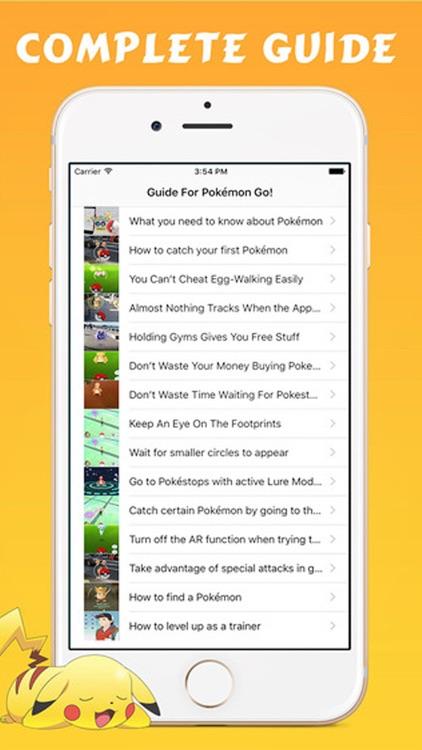 Guid for Pokémon Go - Tips & Tricks Cheats