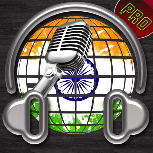 Best India Radio Pro, Listen Indian Songs and Music