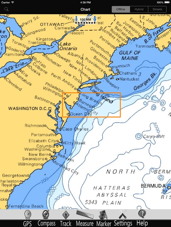 Delaware Nautical Charts Pro screenshot-4