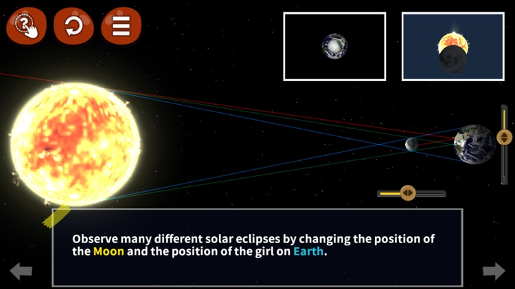 You Know Solar Eclipse? It's so straight!