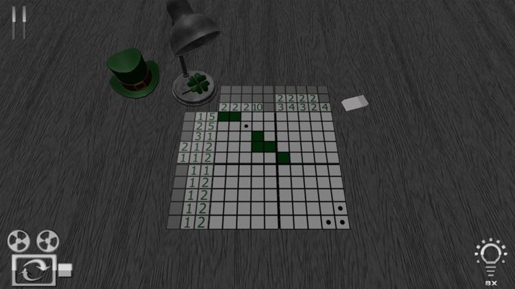 Easy Patrick Crossword Premium - Best Green Nonogram
