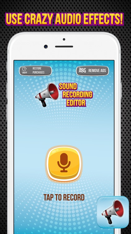 Sound Recording Editor - Change Your Voice and Make Pranks with Funny Special Effect.s
