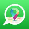 Locate Coordinates for WhatsApp