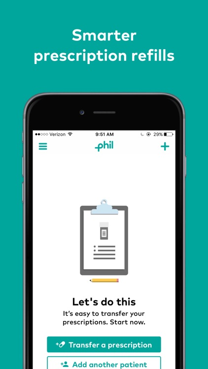 Phil – Smarter Prescription Refills