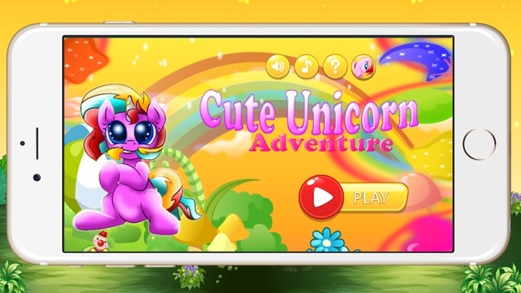 Pony Adventure Games for little Kids - My Cute Unicorn Run