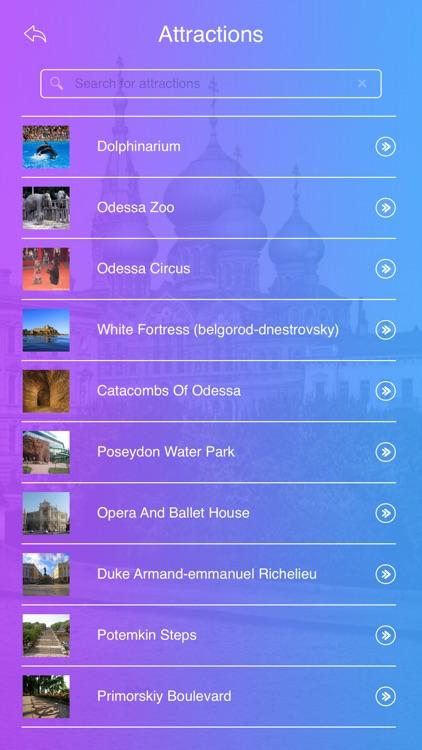 Odessa Travel Guide