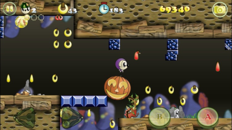 Monko Quest Halloween - Monkeys Graveyard Adventure screenshot-3