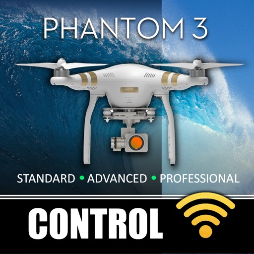 Control for Phantom 3 Standard, Advanced & Professional Drones