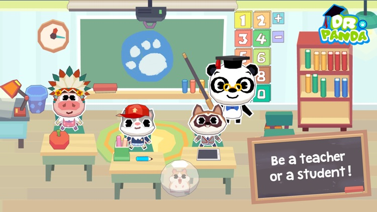 Dr. Panda School screenshot-1